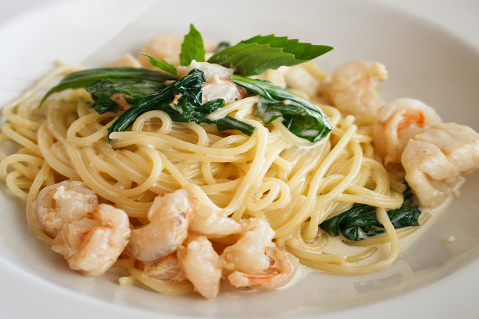 Pasta and Shrimp | DiCicco's Colorado Italian Restaurant