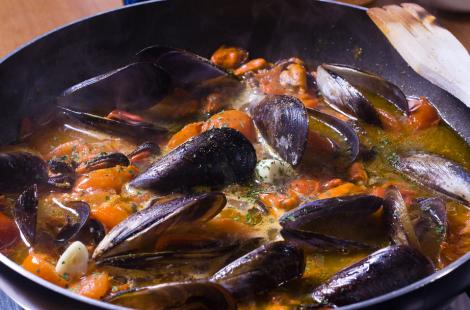 Sauteed Mussels | DiCicco's Colorado Italian Restaurant